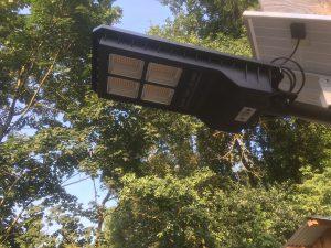 Smart straatverlichting op Zonne-energie