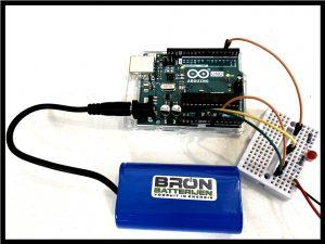 Makerblock li-ion batterij ook voor Arduino